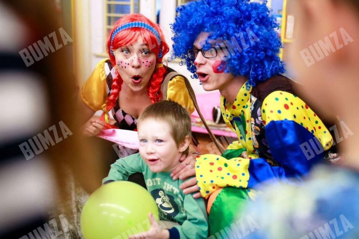 Сценарий два клоуна на дне рождении